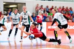 """THC-Handballerin """"Fine"""" kniet sich rein"""