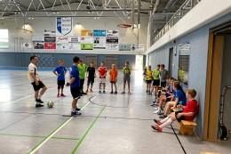 Ferientrainingslager beim VfB TM Mühlhausen